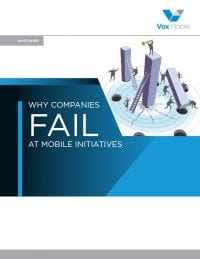 Why Companies Fail At Mobile Initiatives