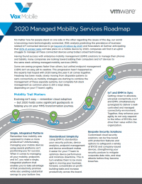 2020 Managed Mobility Services Roadmap