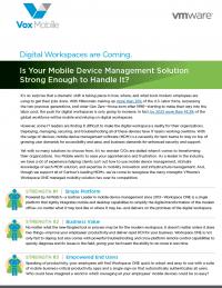 Top 6 Strengths of Digital Workplaces
