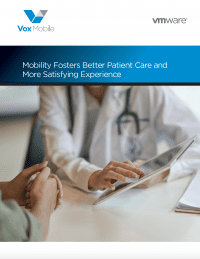 Mobility Fosters Better Patient Care and More Satisfying Experience